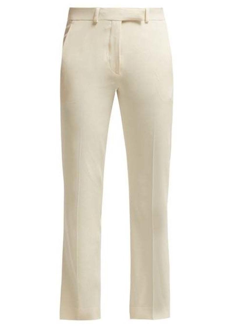 Etro Violante straight-leg cady trousers