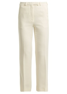 Etro Violante straight-leg stretch-cady trousers