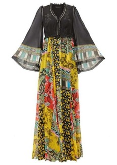 Etro Wiltshire floral-print silk-chiffon maxi dress