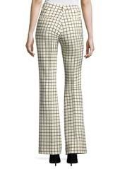 Etro Windowpane Stretch-Wool Trousers