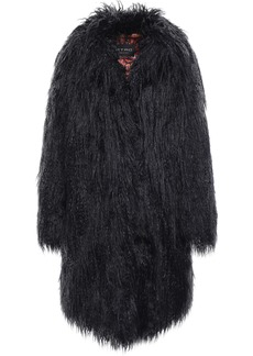 Etro Woman Faux Fur Coat Black