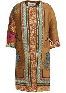Etro Woman Jacquard Jacket Camel