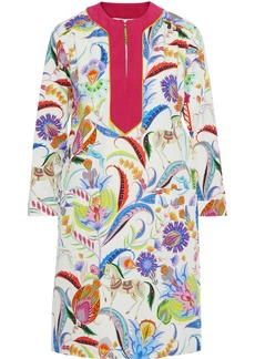 Etro Woman Printed Cotton Dress Multicolor