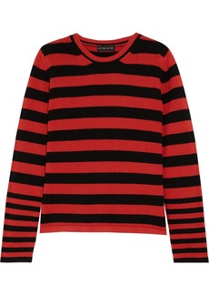 Etro Woman Striped Knitted Sweater Red