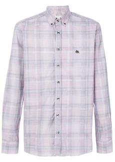 Etro woven check shirt - Multicolour