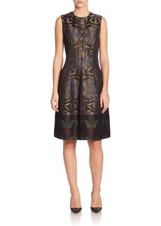 Etro Zigzag Jacquard Dress