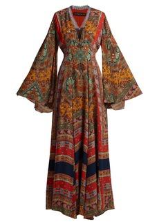 Etro Zoist paisley-print silk-chiffon dress