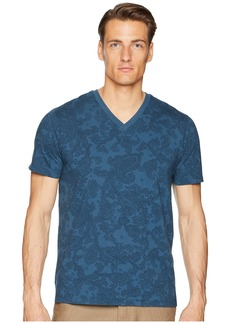 Etro Faded Paisley V-Neck T-Shirt