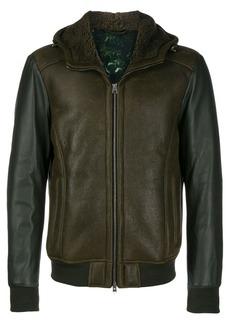 Etro faux leather jacket