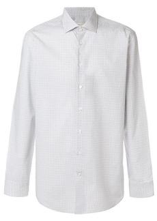 Etro fine Paisley print curved hem shirt