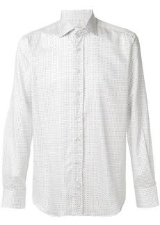 Etro fine print shirt