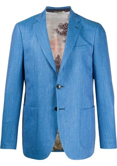 Etro fitted single-breasted blazer