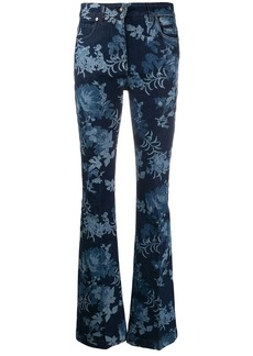 Etro flared style jeans