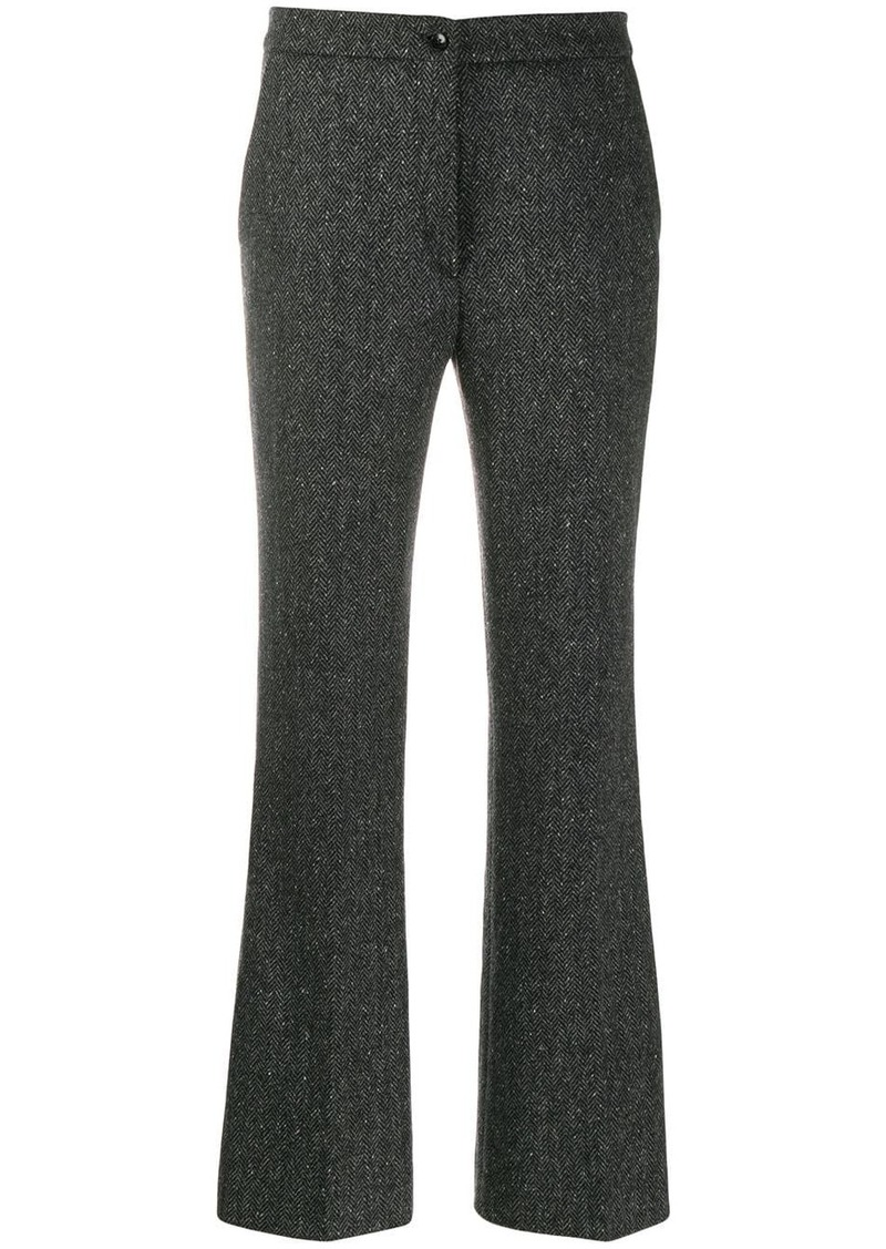 Etro flared tailored trousers