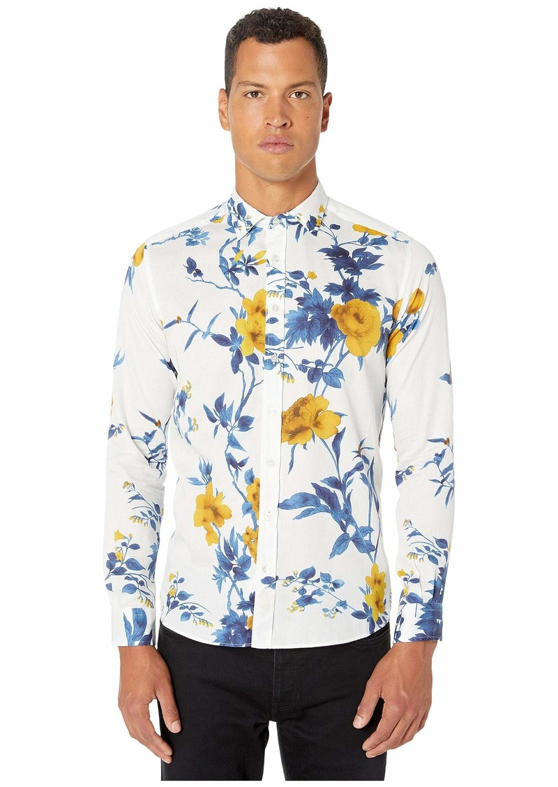 Etro Floral Button Up Shirt