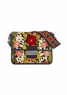 Etro Floral Carpet Embroidery Rainbow Shoulder Bag
