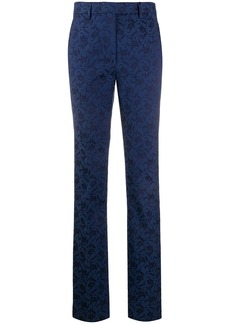 Etro floral-jacquard tailored trousers