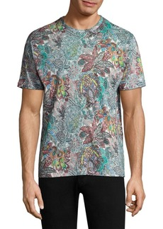 Etro Floral Paisley Tee