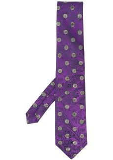 Etro floral pattern tie