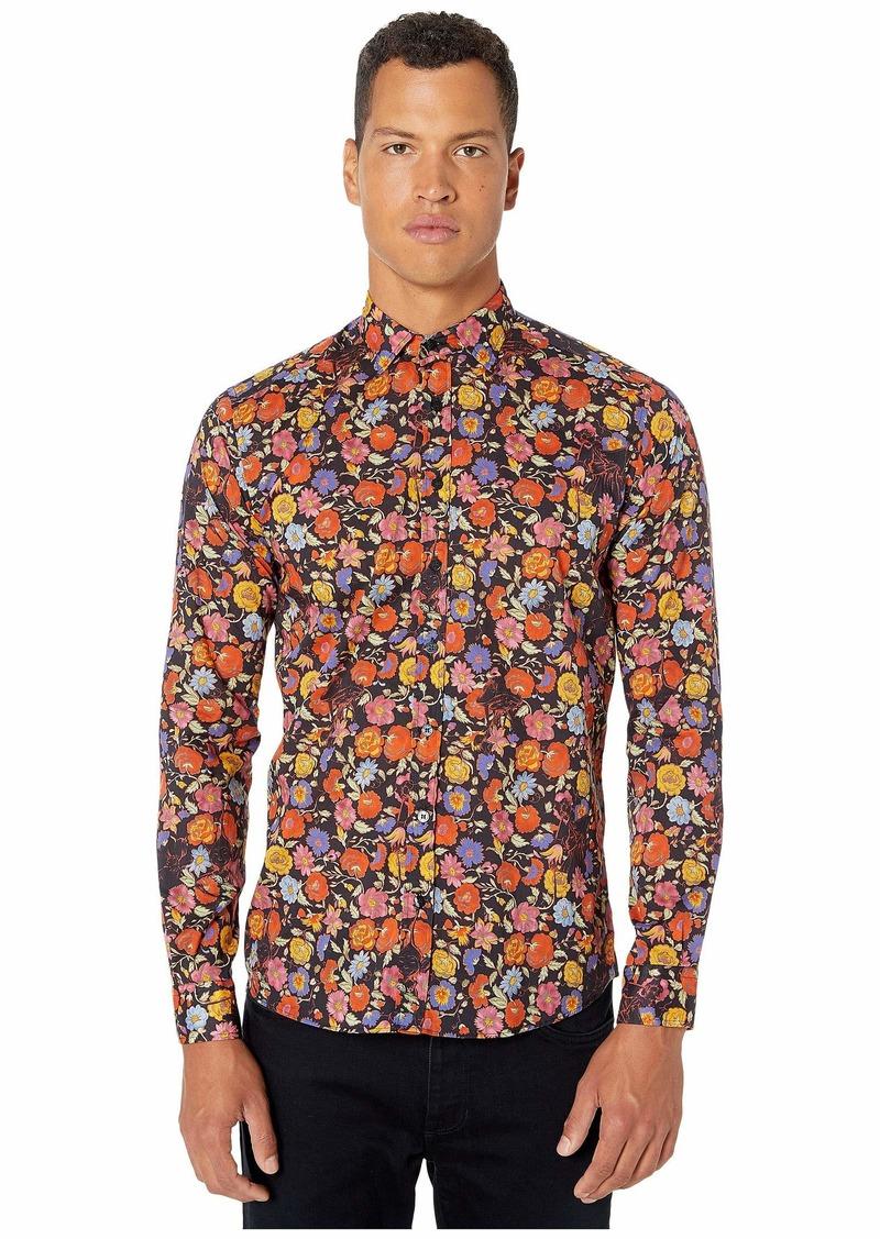 Etro Floral Print Button Up Shirt