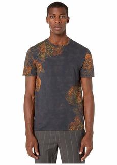 Etro Floral Print Crew Neck T-Shirt