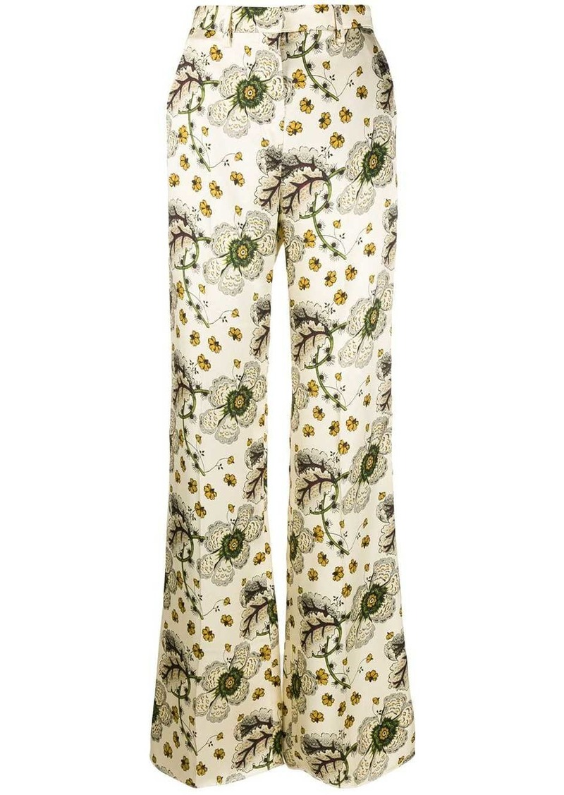 Etro floral-print palazzo trousers