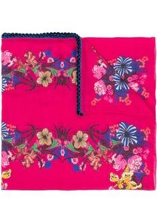 Etro floral print scarf