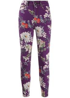 Etro floral print straight-leg jeans
