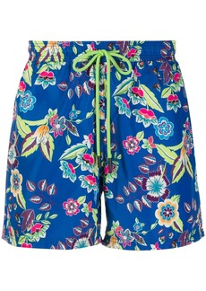 Etro floral print swim shorts