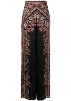 Etro floral-print wide-leg trousers