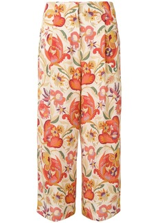 Etro floral printed trousers