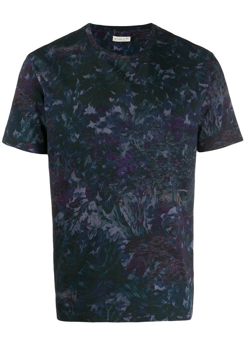 Etro floral short-sleeve T-Shirt