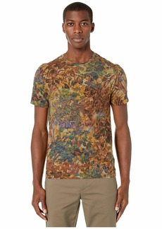 Etro Floral Tapestry Print Crew Neck T-Shirt