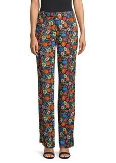 Etro Florescent Floral Pants