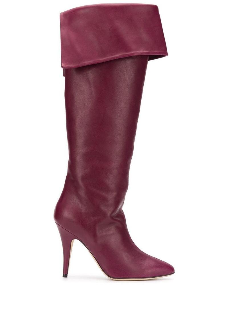 Etro folded-flaps knee boots