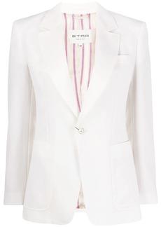 Etro formal single breasted blazer