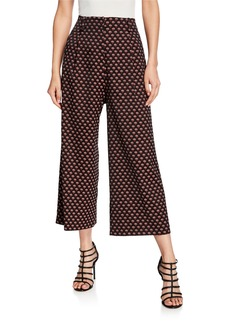 Etro Foulard Cropped Pants