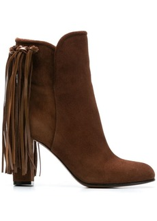 Etro fringed booties