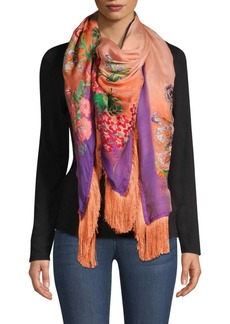 Etro Fringed Fille Coupe Scarf