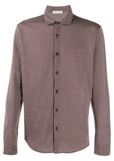 Etro geometric embroidered shirt