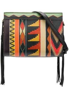 Etro geometric print shoulder bag