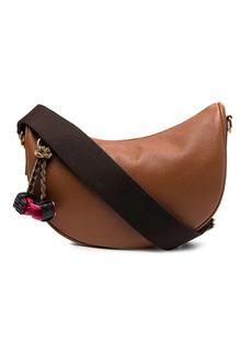 Etro geometric-trim shoulder bag