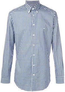 Etro gingham print shirt