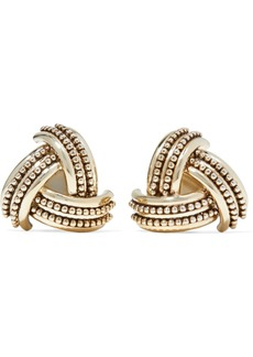 Etro Gold-tone Clip Earrings