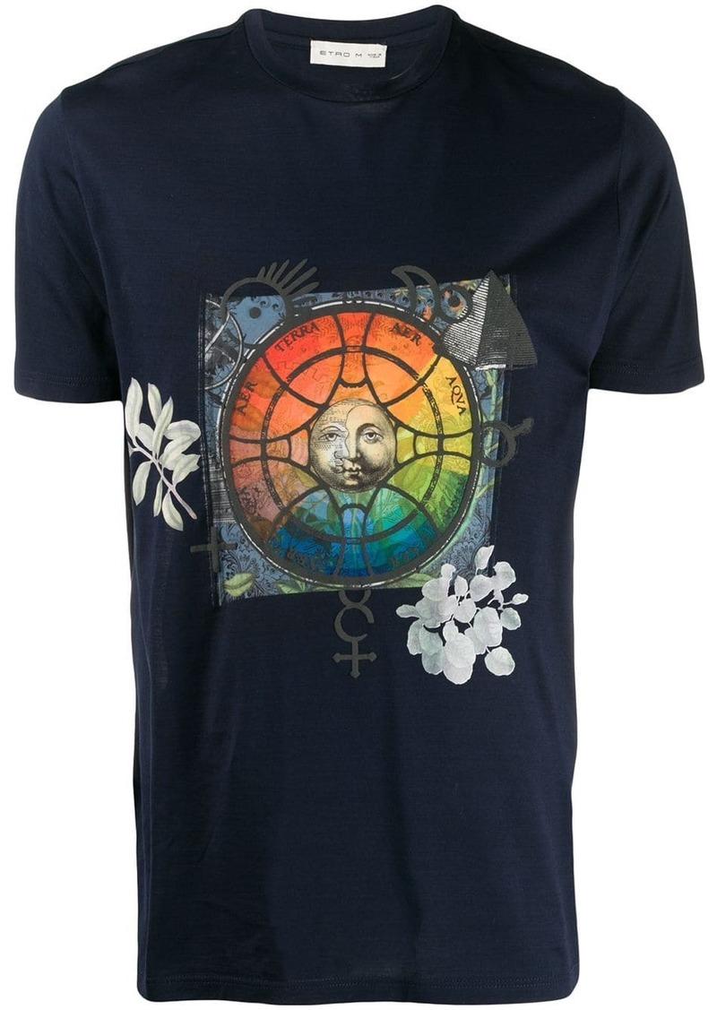 Etro graphic print T-shirt