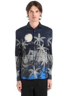 Etro Hawaiian Fluid Cotton Shirting Shirt