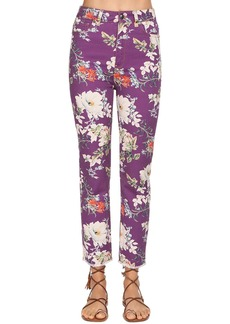 Etro High Waist Printed Denim Jeans