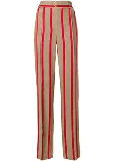 Etro high-waisted striped trousers