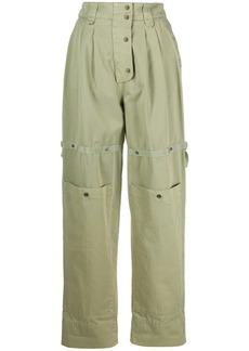 Etro high waisted tapered trousers