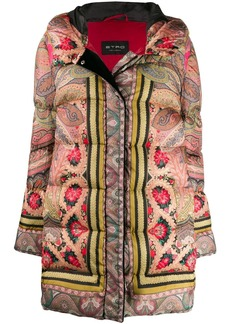 Etro hooded padded jacket